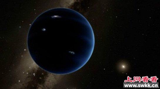 太阳系或存第九颗行星 图